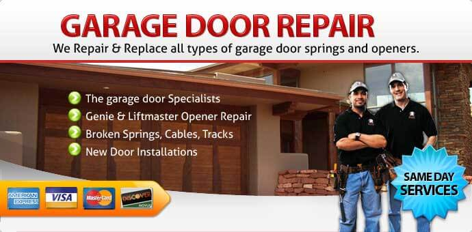 Garage door repair La Verne CA